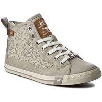 Sneakersy MUSTANG - 38C0046 Beżowy, kolor szary