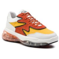 Sneakersy BRONX - 66243-AP BX 1562 White/L.Yelllow/Orange 3033