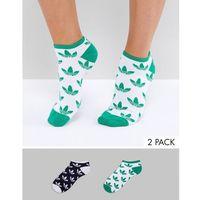 2 pack logo socks - multi, Adidas originals