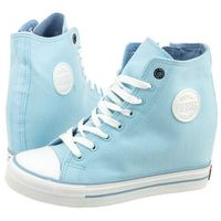 Sneakersy błękitne w274662 (bi52-d), Big star, 36-40