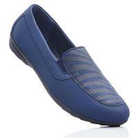 Bonprix Wygodne buty wsuwane z pianką youfoam ciemnoniebieski