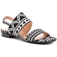 Sandały OLEKSY - 2299/E67/000/000/000 Biały Czarny, w 4 rozmiarach