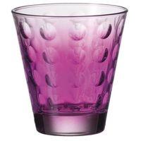 Leonardo - szklanka niska 220 ml optic - fioletowa