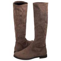 Kozaki Caprice Brązowe 9-25507-21 208 Stone Stretch (CP115-c), kolor brązowy