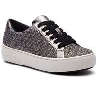 Sneakersy MICHAEL MICHAEL KORS - Poppy Lace Up 43F8POFS2D Blk/Silver