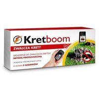 - pirotechniczny eliminator kretów wersja 2017r marki Kret-boom