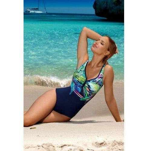 Kostium kąpielowy jednoczęściowy Aquarilla 272 granatowy, kolor niebieski