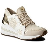 Sneakersy MICHAEL KORS - Scout Trainer 43T7SCFS9D Ecru/Pl Gold, 1 rozmiar