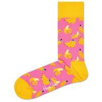 Happy Socks Banana Skarpetki Różowy Żółty 36-40, kolor różowy