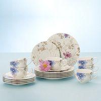 Villeroy & Boch Mariefleur Gris 18el Zestaw do kawy, serwis, porcelana premium