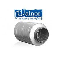 Tłumik akustyczny prosty 200mm z izolacją 50mm (300mm) (SIL-50-200-300), SIL-50-200-300