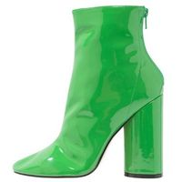 Public Desire IMPACT Botki na obcasie green, kolor zielony