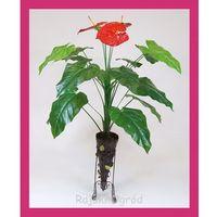 sztuczne drzewko ANTURIUM 100cm sztuczny kwiat...