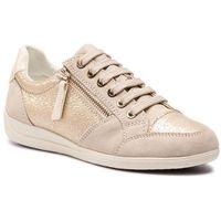 Sneakersy GEOX - D Myria B D8468B 0KY22 C2L5K Lt Gold/Cream, w 2 rozmiarach