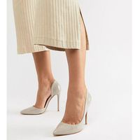 beige d'orsay court shoes - beige marki Glamorous wide fit