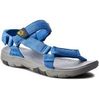 Sandały - seven seas 2 sandal w 4022441-1255060 wave blue, Jack wolfskin, 35.5-39.5