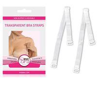 Ramiączka transparentne - Bye Bra Transparent Bra Straps Clear (8718801012963)