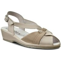 Sandały - 710122 beige 8, Comfortabel, 35-41