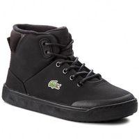 Sneakersy - explorateur classic 3181caj 7-36caj000602h blk/blk, Lacoste, 35-37.5