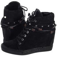 Sneakersy czarne b4906-h20-000-000-b88 (ci380-a), Carinii, 37-40