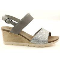 Sandały na koturnie Caprice 28701