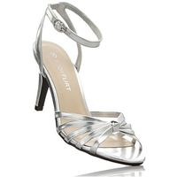 Sandały bonprix srebrny, kolor szary