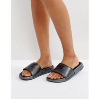 Nike Pastel Benassi Sliders In Black - Black, kolor czarny