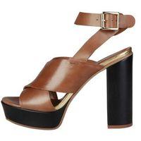 Sandały damskie PIERRE CARDIN - CELIE-62, kolor brązowy