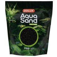 Zolux żwir akwarystyczny kwarcowy aquasand czarny diament 3l