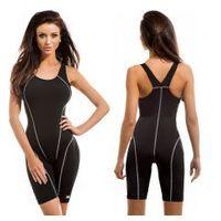 Gwinner strój kąpielowy treningowy damski jednoczęściowy pbt (czarny) (gw10125/1)
