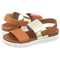 Sandały Venezia Brązowe/Złote Ramba 23 CU-PL (VE95-b), kolor brązowy