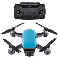 Dji Dron latający spark (wbudowana kamera sky blue)