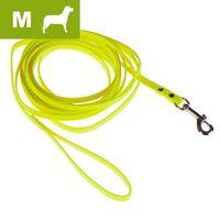 bio-thane smycz w kolorze jaskrawo-żółtym, m - dł. szer.: 500 x 1,3 cm marki Heim