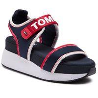 Sandały - sporty neoprene hybrid sandal en0en00445 midnight 403 marki Tommy jeans