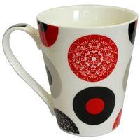 Kubek porcelanowy kawa/kwiatek 445ml8398 marki Chomik