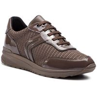 Sneakersy GEOX - D Airell A D842SA 0AS66 C6004 Chestnut, kolor brązowy