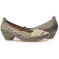 Pantofle 8-22305-24 brązowe, Jana
