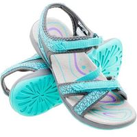sandały damskie madaka - rozmiar 39 - kolor turkusowy marki Elbrus
