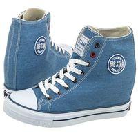 Sneakersy Big Star Niebieskie U274901 (BI5-d), w 5 rozmiarach