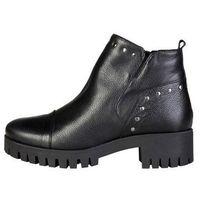Buty damskie botki catrin czarne, Ana lublin, 37-41