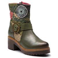Botki DESIGUAL - Shoes Breaker Militar 18WSTL07 6100