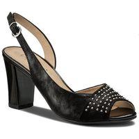 Sandały - 9-28305-20 black pearl 023 marki Caprice