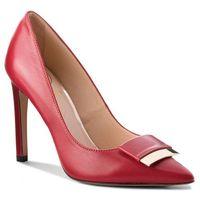 Szpilki BALDOWSKI - W00472-1451-003 Skóra Czerwona Nessi 9042, kolor czerwony