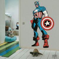 Graham&brown Naklejka marvel comics life size captain america 70-488