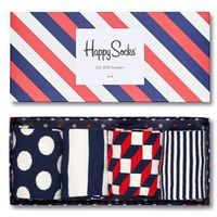 - skarpetki stripe gift box (4-pak) marki Happy socks