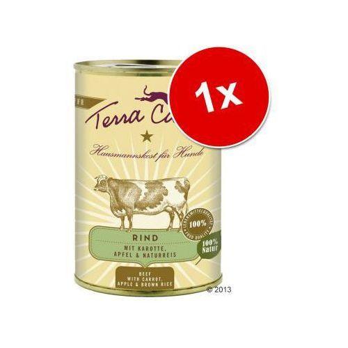 Terra canis Korzystny pakiet , 12 x 400 g - dziczyzna z amarantusem, dynią i borówkami