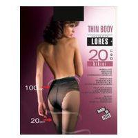 Rajstopy modelujące thin body 20 den bikini marki Lores