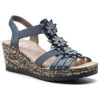 Sandały RIEKER - V7673-12 Blau, w 2 rozmiarach