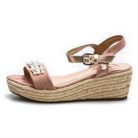 sandały damskie 37 różowe marki Tom tailor