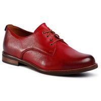 Oxfordy LASOCKI - IDA-03 Red, w 2 rozmiarach